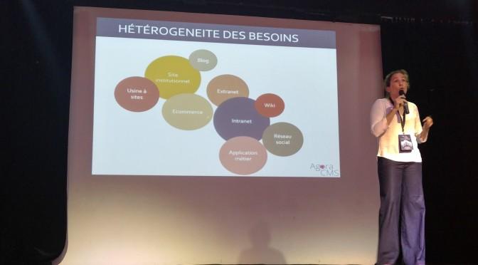 Agora CMS 2016, l'événement français de la gestion de contenu