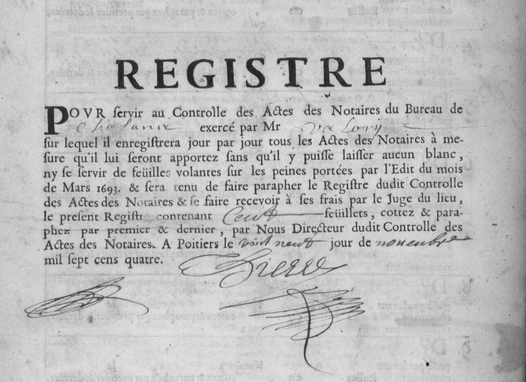 OPFA – Gestion d'actes notariés